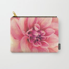 Her Smile (Spring Blooming Rose Pink Dahlia) Carry-All Pouch