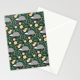 Opossums Stationery Cards