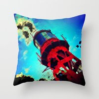 ace Throw Pillows featuring Ace by thejennii