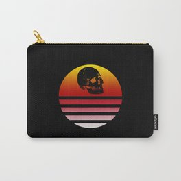 Retro Skull 3 Carry-All Pouch