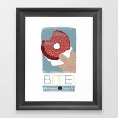 Bite IT! Framed Art Print