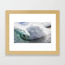 Shock Jockey Framed Art Print