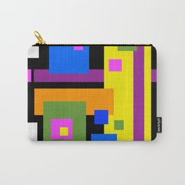 Color Planes Carry-All Pouch