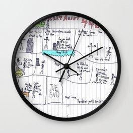 Max Morrocco: Issue 4 Wall Clock