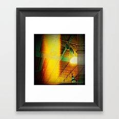 Halogen Framed Art Print