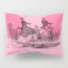 I LOVE MY BICYCLE Pillow Sham
