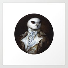 Sir Kite Art Print