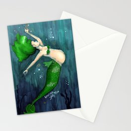 Emerald (May) Stationery Cards