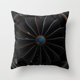 Cycles Enginge Throw Pillow