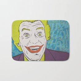 Vintage Joker Spray Painting Bath Mat
