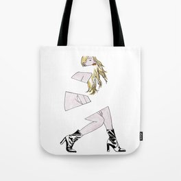 replaced with dread. Tote Bag