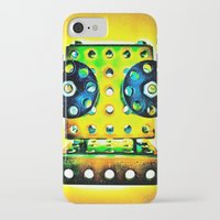 dj iPhone & iPod Cases featuring DJ by Yukska