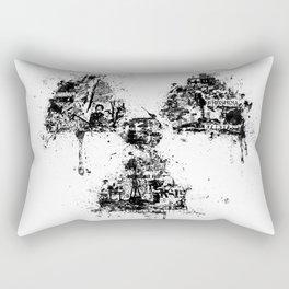 Radioactivity Symbol Rectangular Pillow