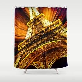 SUPERNOVA EIFFEL II Shower Curtain