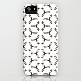 3 Petals iPhone Case