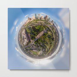 Houston is out of this world! Metal Print