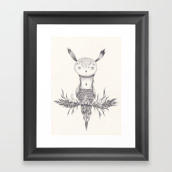 Temps Framed Art Print
