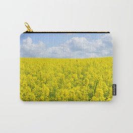 Field of Rapeseed Carry-All Pouch