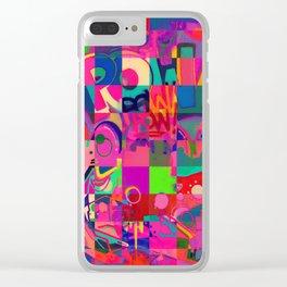 Pow Pow Clear iPhone Case