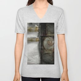 Nature Voices No.3n by Kathy Morton Stanion Unisex V-Neck
