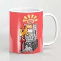 shiba Mugs featuring Shiba Slots by  terrorbunnystudios