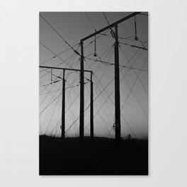 Luossavaara Canvas Print