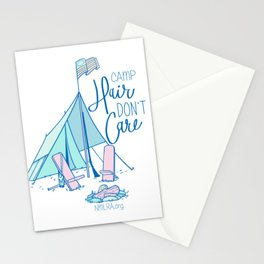 Camp Hair Don't Care Stationery Cards