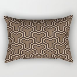 Brown Ys (70's Style) Rectangular Pillow