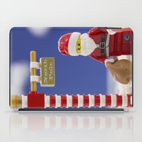santa iPad Cases featuring Santa by Pedro Nogueira