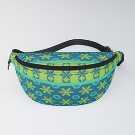 Floral motif ethnic pattern Fanny Pack