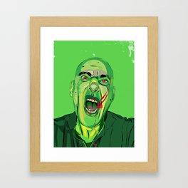 Self Infected Framed Art Print