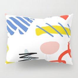 Memphis Zazzle Pillow Sham