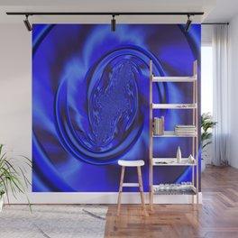 Inspirational Blue Wall Mural