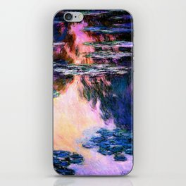 Monet : Water Lilies iPhone Skin