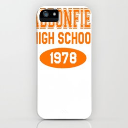 Haddonfield High School 1978 iPhone Case