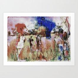 Spirits Watch Art Print