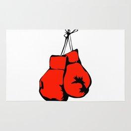 Hanging Boxing Gloves Rug