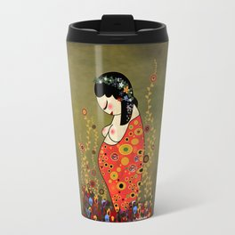 Kokeshi Hope of Klimt Travel Mug