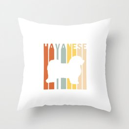 Hayanese Throw Pillow