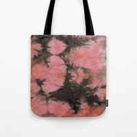 splatter Tote Bags featuring Splatter by SarahKdesigns
