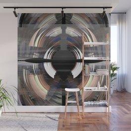 Tunnel vision, modern fractal abstract art Wall Mural