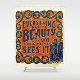 Confucius Shower Curtain