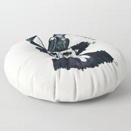 Edgar Poe - Nevermore Floor Pillow