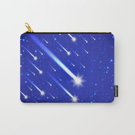 Space background with stars and comets Carry-All Pouch