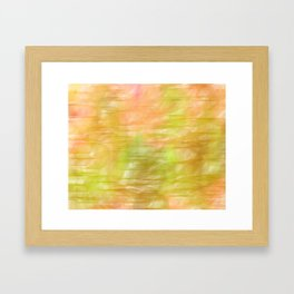 Grass Stains Framed Art Print