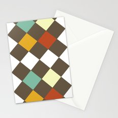Checkers Fall Stationery Cards