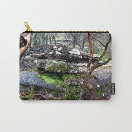 Volcanic Lava Rocks Carry-All Pouch