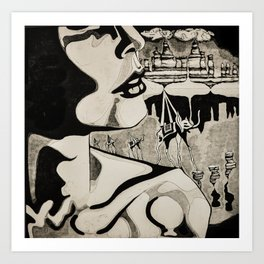 Dreaming of Dali Art Print