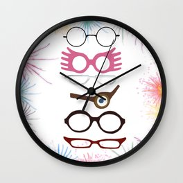 Wizarding Sight Wall Clock