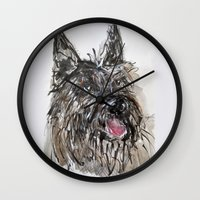 picard Wall Clocks featuring Berger Picard by Macknifique